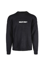 Knit Sweater With Screen Print