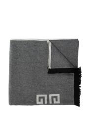 Halstørklæde med logo