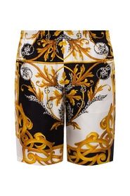 Barocco-printed shorts