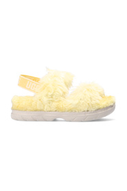 W Fluff päls sandaler