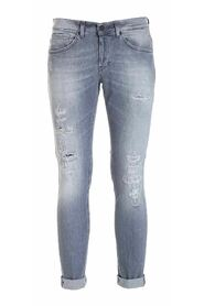 GEORGE jeans stretch strappi
