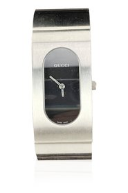 Stainless Steel Mod 2400 L Bangle Bracelet Wrist Watch