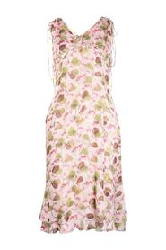 Floral Print Silk Dress -Pre Owned Condition Excellent