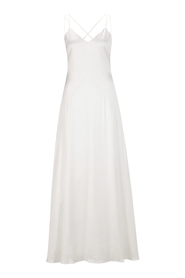 Bridal Strap Dress with Tail