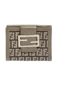 Pre-owned Compact Forever Flap Wallet