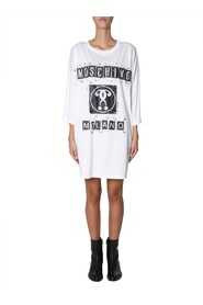 OVERSIZE FIT DRESS WITH LOGO