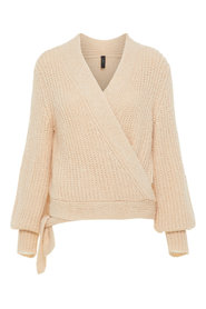 Knitted Cardigan Wrap over