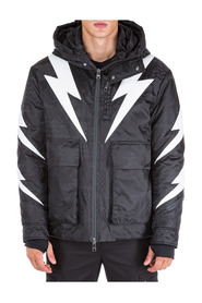 men's outerwear jacket blouson hood Tigerbolt