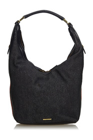 Web Denim Hobo Bag