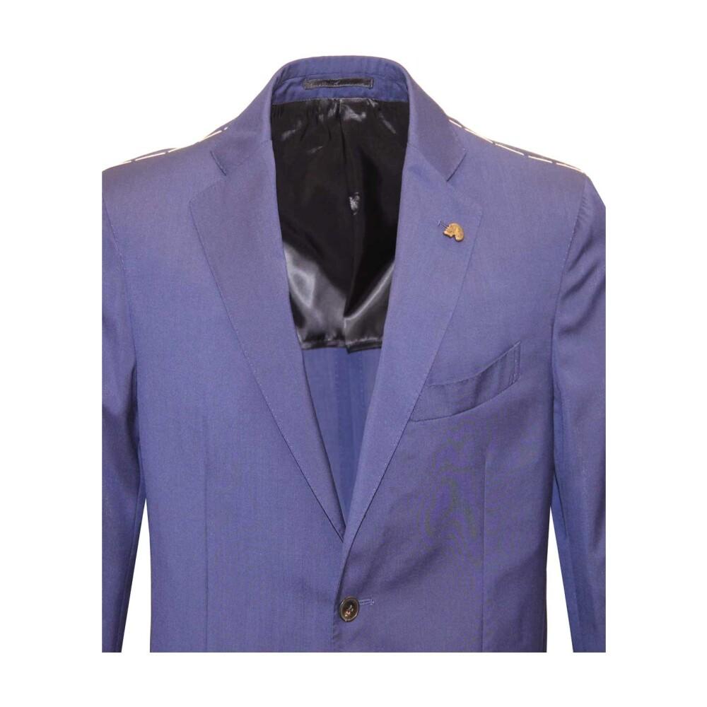 Gabriele Pasini Complete suit in blue -G15065GP15407-658--48 Gabriele Pasini