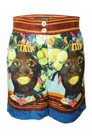 Pre-owned African Print Shorts Spring Summer 2013