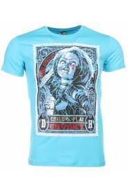 T-shirt - Chucky Poster Print