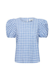 10702728 Milano Checked Blouse
