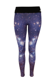 Blå Tessawear Shape Me Galaxy Tights