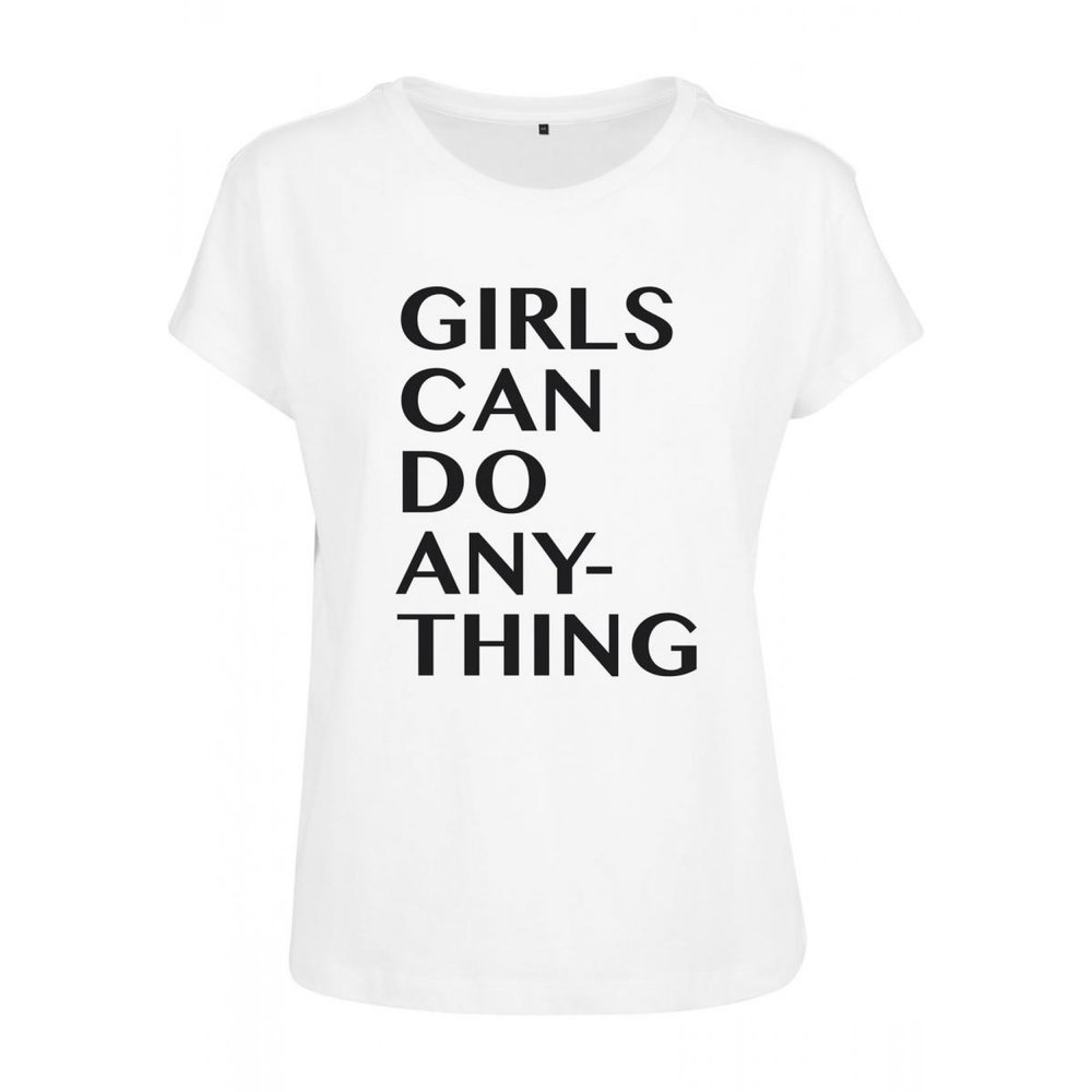 Ladies Girls Can Do Anything T-shirt