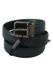 Kalv Leather Gold Buckle Belt
