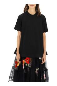 Embellished a-line t-shirt