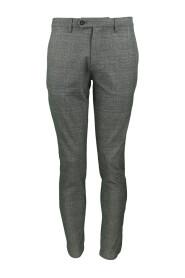 Pantalon à Motifs Chevrons
