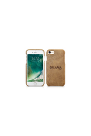 OKANA Real Leather Back Case For iPhone 6/7/8