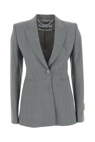 Classic  blazer with single breasted buttoning
