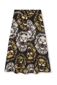 lion maxi skirt