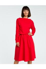 Sukienka z długim rękawem B087
