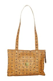 Pre-owned Visetos Leather Tote Bag