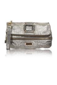 Metallic Silver Clutch -Pre Owned Condition Very Good