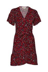 Elv Leaf Wrap Dress