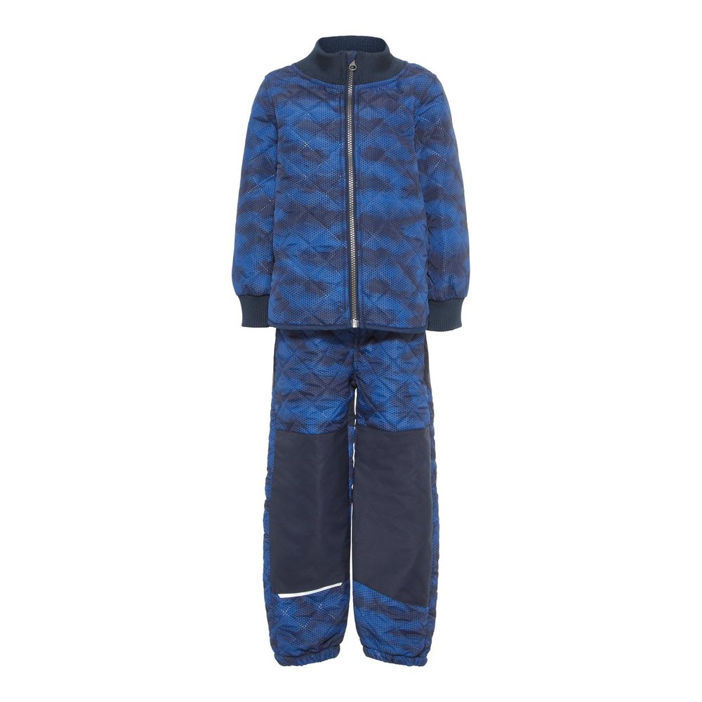Thermo set quilted