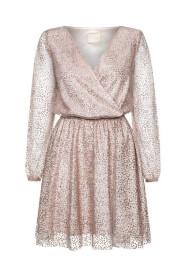 Sukienka z kopertowym dekoltem Golddie
