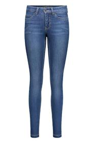Blå Mac Dream Skinny Bukse Jeans
