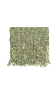 Woven scarf with fringes
