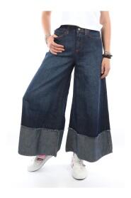 P20RND049D1510901 Wide Fund Jeans
