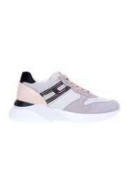 Active one sneaker in suede and fabric