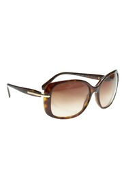Pre-owned Round Tinted Sunglasses Plastic Others