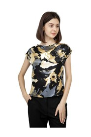 Mallory Buttoned Back Silk Top