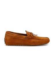 New Laccetto suede driver loafers