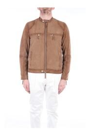 MORENO-BURN Leather jacket