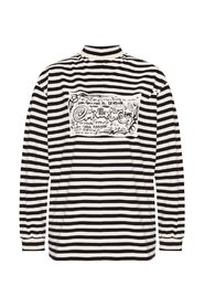 Long-sleeved top with logo
