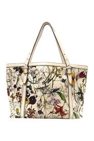 Pre-owned Flora Nice Leather Tote Bag
