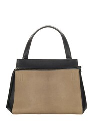 Pre-owned Medium Edge Bicolor Leather Handbag