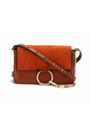 Pre-owned Faye Leather Crossbody Bag