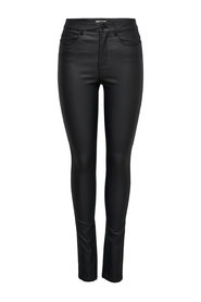 Skinny passar jeans Anne mitten belagd