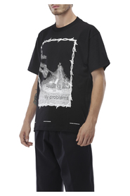 T-shirt with frame print