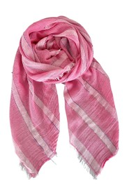 BEVERLY striped scarf