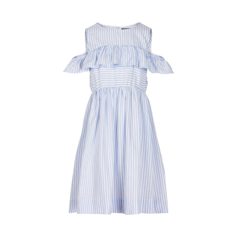 Creamie Dress Blue Stripe Xenon Blue