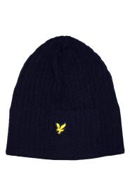 Strikket Rib Beanie Hat
