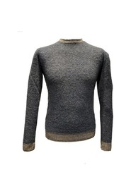 CHENILLA ROUND NECK SWEATER