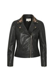 WallisCR Leather Jakke